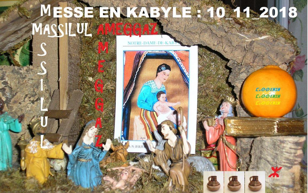 Messe en kabyle