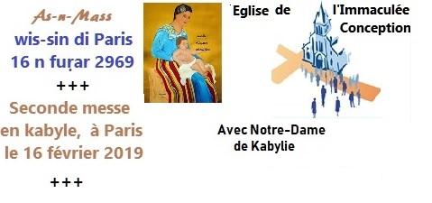 1_ère messe en kabyle à Paris